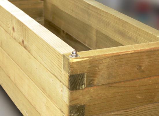 Fai da te gallo legnami srl case in legno e case for Fioriera legno fai da te